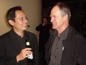 Ken and Mike at After Party